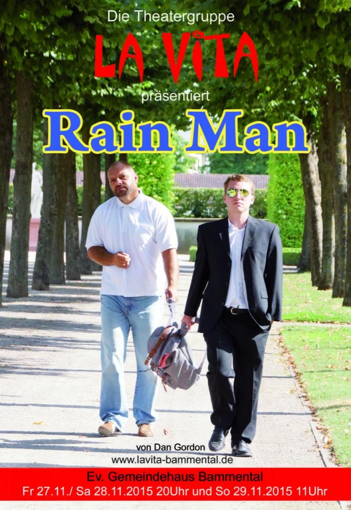 Plakat La Vita präsentiert Rainman